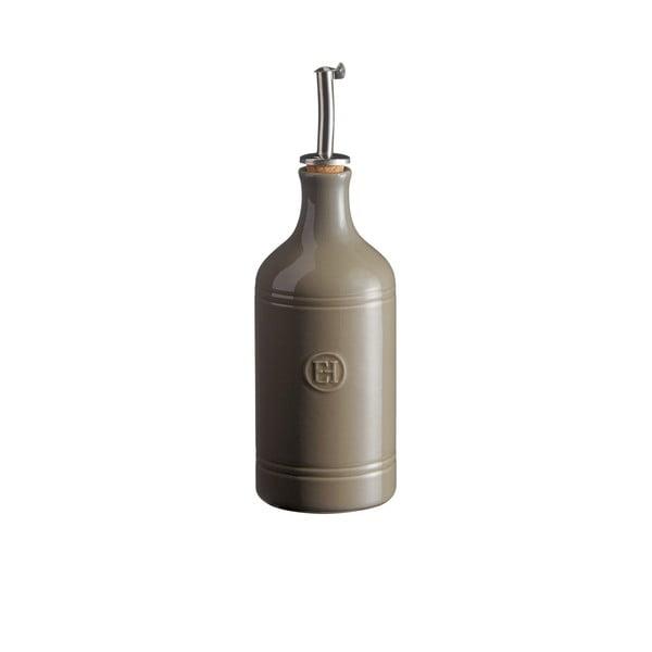 Szara butelka na olej Emile Henry, obj. 400 ml