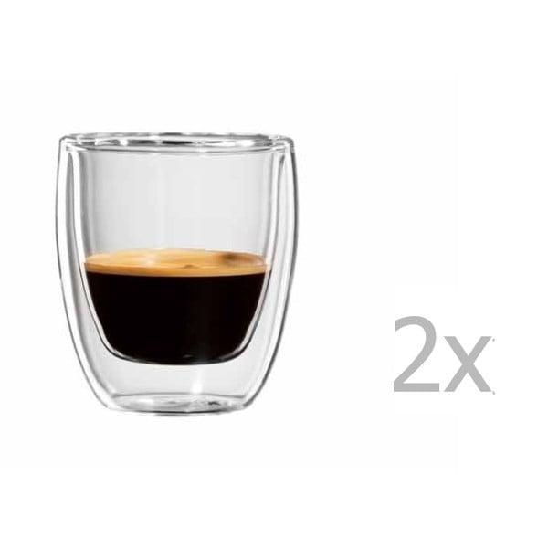 Sada 2 hrnků na espresso bloomix Roma