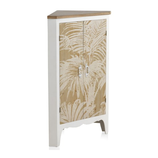 Dřevěná šatní skříň Geese Natural