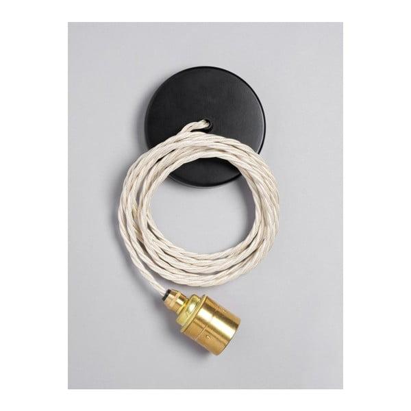 Závěsný kabel Brass Skirt Ivory Cream