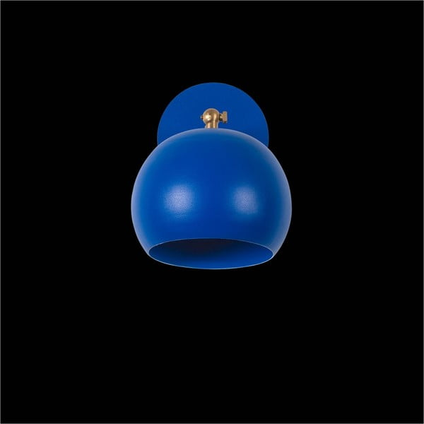 Modré nástěnné svítidlo Cup Wall Lamp