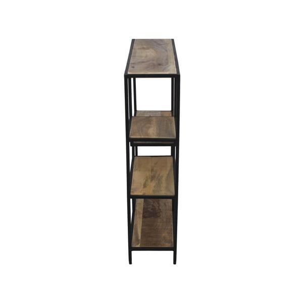Knihovna z mahagonového dřeva HSMcollection Levels, 70 x 80 cm