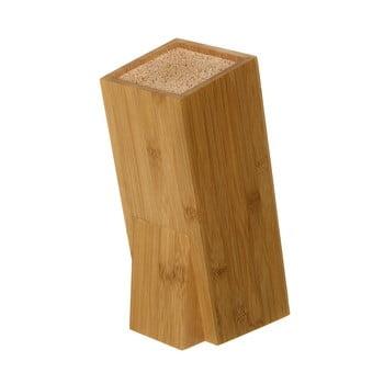 Suport din bambus pentru cuțit Unimasa, înălțime 26,3 cm imagine