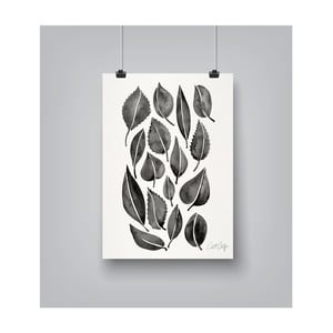 Poster Americanflat Fall Leaves, 30 x 42 cm