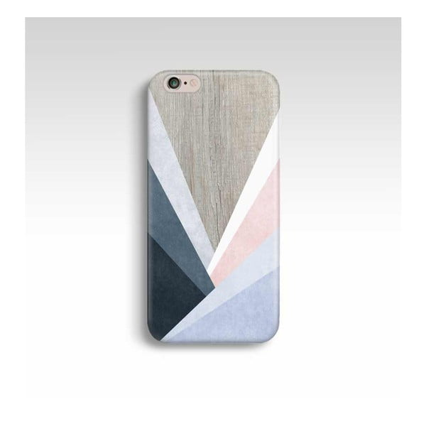 Obal na telefon Wood Triangles pro iPhone 6/6S