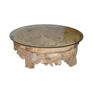 Konferenční stolek  z teakového dřeva HSM collection Tearo, ⌀90cm