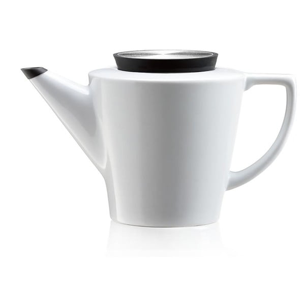 Dzbanek do herbaty z sitkiem i czarnymi elementami Viva Scandinavia Anytime,1l