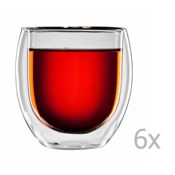 Sada 6 sklenic na čaj bloomix Tunis