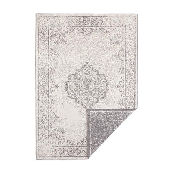 Šedo-krémový venkovní koberec Bougari Cebu, 160 x 230 cm