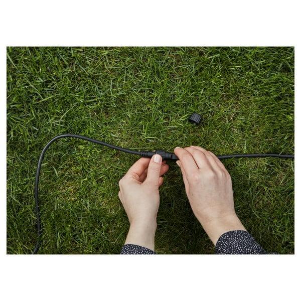 Černý prodlužovací kabel Markslöjd Garden, délka 5 m