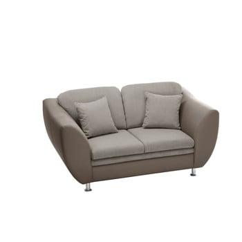 Canapea cu două locuri Florenzzi Maderna Taupe