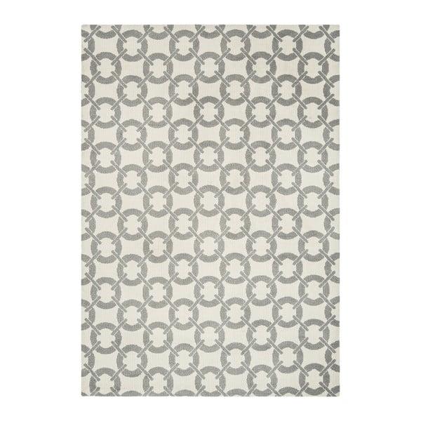 Koberec Asiatic Carpets Buckle Rug Ivory, 100x150 cm