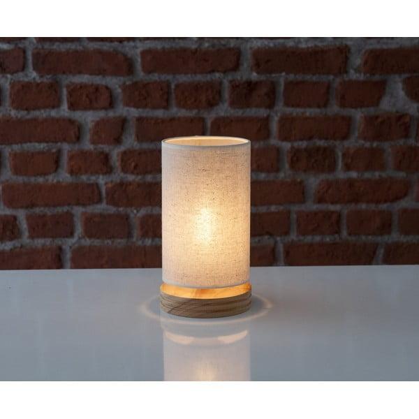 Stolní lampa s dřevěnou základnou Homemania Lola