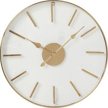 Ceas de perete Kare Design, ⌀ 46 cm, auriu – roz de la Kare Design