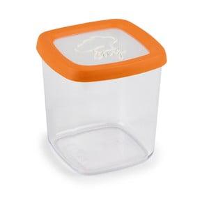 Oranžová dóza na potraviny Snips, 1l