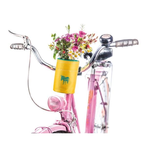 Suport de sticlă pentru bicicletă Donkey Yellow