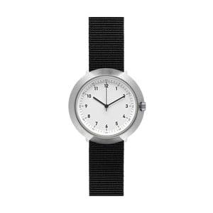 Hodinky White Fuji Black Nylon, 43 mm