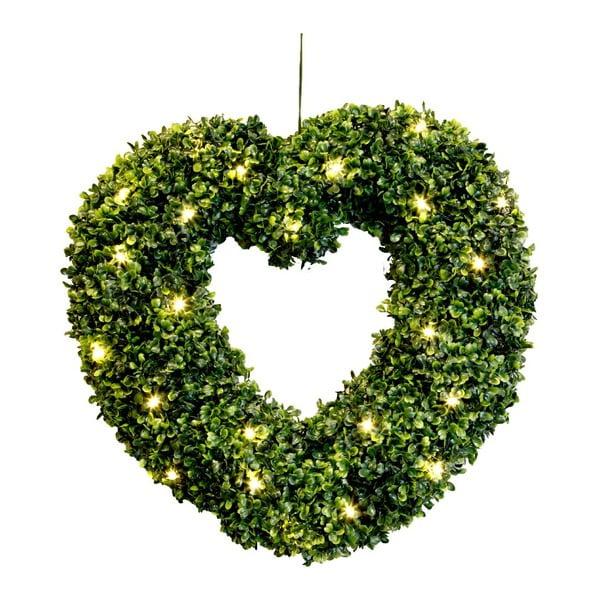 Svítící dekorace Heart, 45 cm