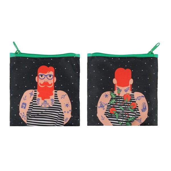 Skládací nákupní taška Smoking Beard by Cristina Caramida