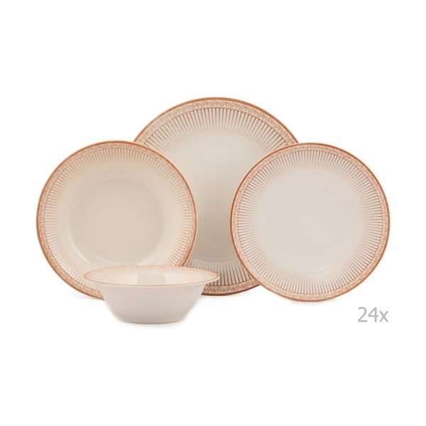 Lumno 24 db-os porcelán étkészlet - Kutahya