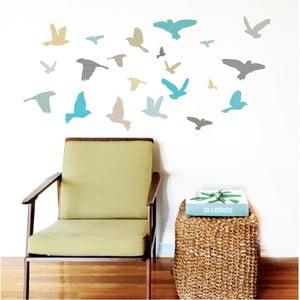 Nástěnné samolepky Art For Kids Blue Birds