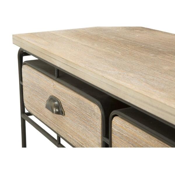 Pojízdný odkládací stolek se 2 zásuvkami Mauro Ferretti Industry