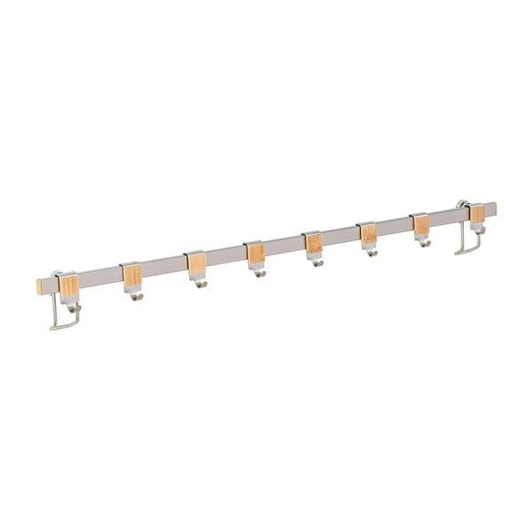 Suport perete cu 8 cârlige Wenko Hooks Premium