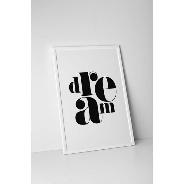 Autorský plakát Dream, vel. A4