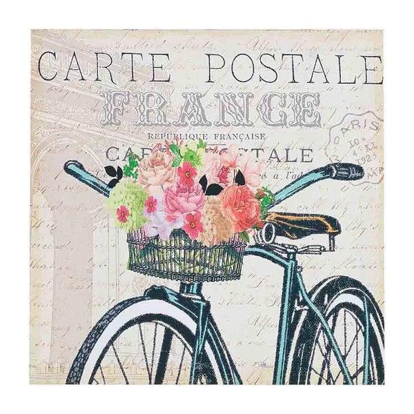 Obraz Painting Bike, 38x38 cm