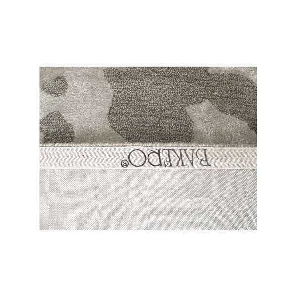 Ručně tkaný koberec Disco, 153x244 cm, stříbrný