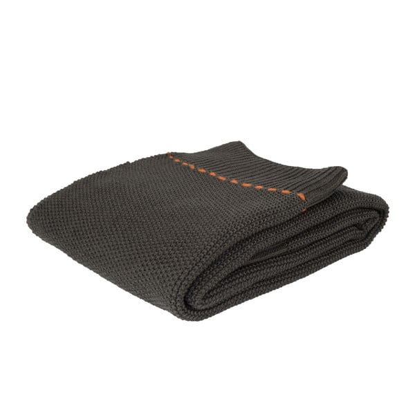 Aster sötétszürke takaró, 170 x 130 cm - Zuiver