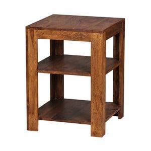 Odkládací stolek z masivního palisandrového dřeva Skyport Fortunata