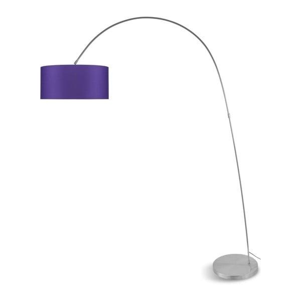 Bolivia szürke állólámpa lila búrával - Citylights