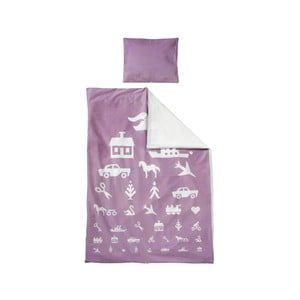 Povlečení do postýlky, 70x100 cm, lavender