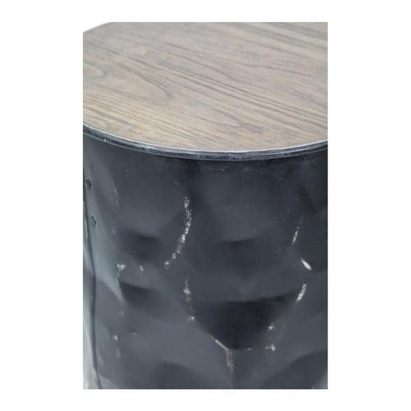 Stolička z teakového dřeva a kovu HSM collection Stool