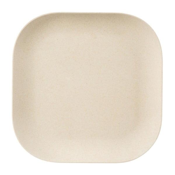 Krémový bambusový talíř Premier Housewares Eden