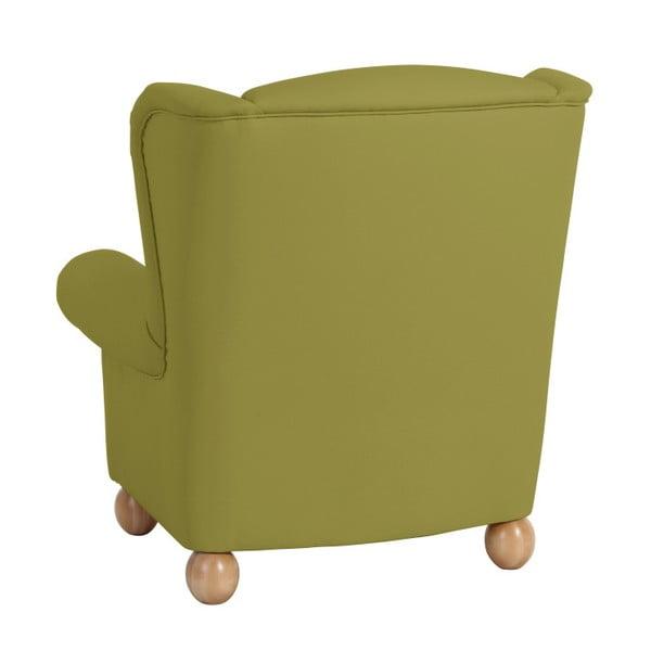 Zelené křeslo ušák Max Winzer Monarch Green