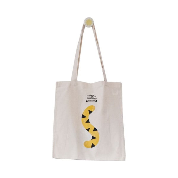 Bavlněná taška Michelle Carlslund Hey Tiger