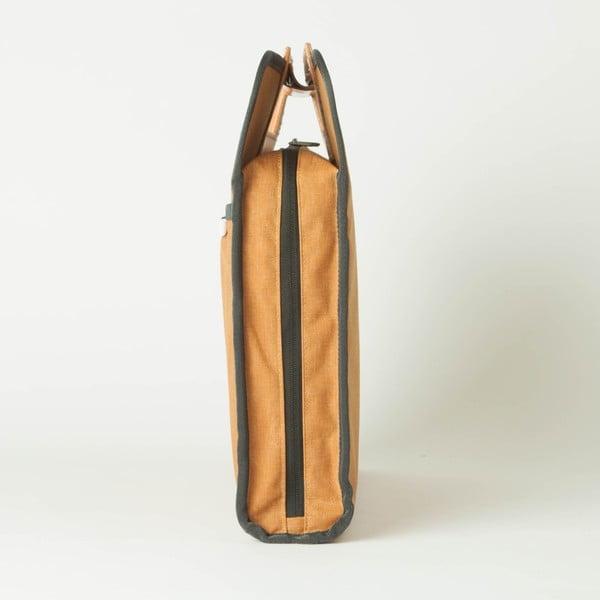 Taška/obal na notebook R Brief 110 Kodra, mustard