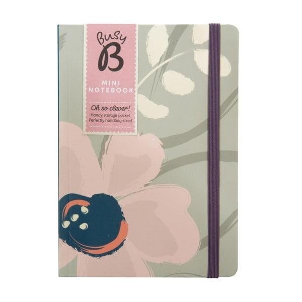 Zápisník Busy B Floral,formát A6