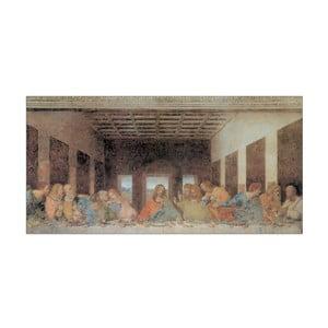 Obraz Da Vinci - The Last Supper, 100x50 cm