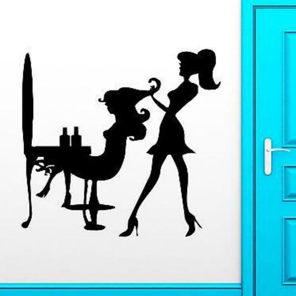 Hairdresser dekoratív falmatrica