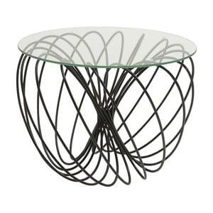 Odkládací stolek Kare Design Wire Ball, ⌀60cm