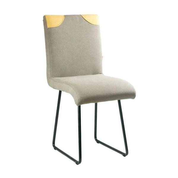 Židle Gie El, světle šedé