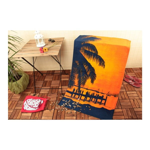 Osuška Palm Beach, 75x150 cm