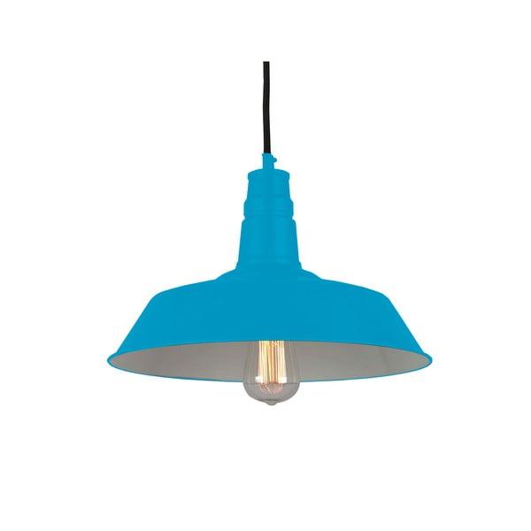 Závěsná lampa Berlin, modrá