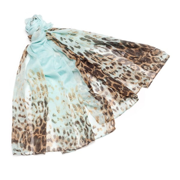 Šátek Berta Turquoise