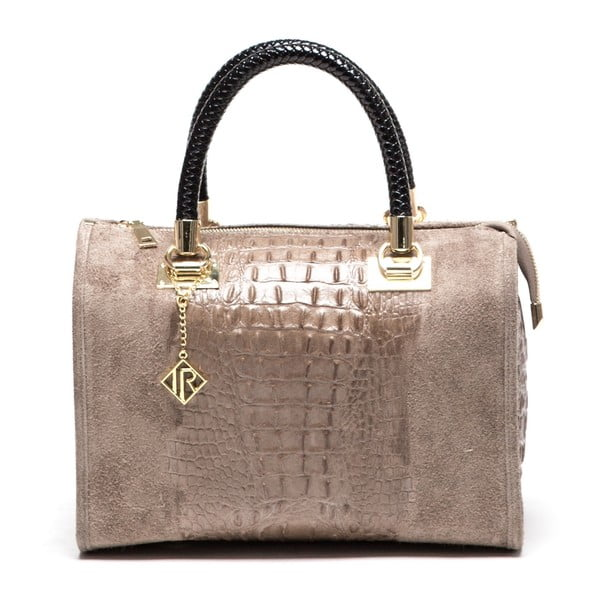 Kožená kabelka Isabella Rhea 822, béžová