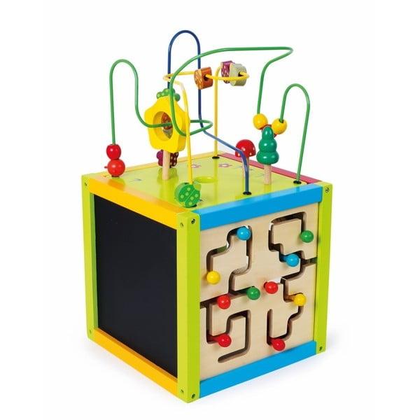 Dřevěná hračka Legler Activity Cube