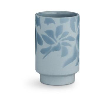 Vază din ceramică Kähler Design Kabell, înălțime 12,5 cm, albastru deschis de la Kähler Design